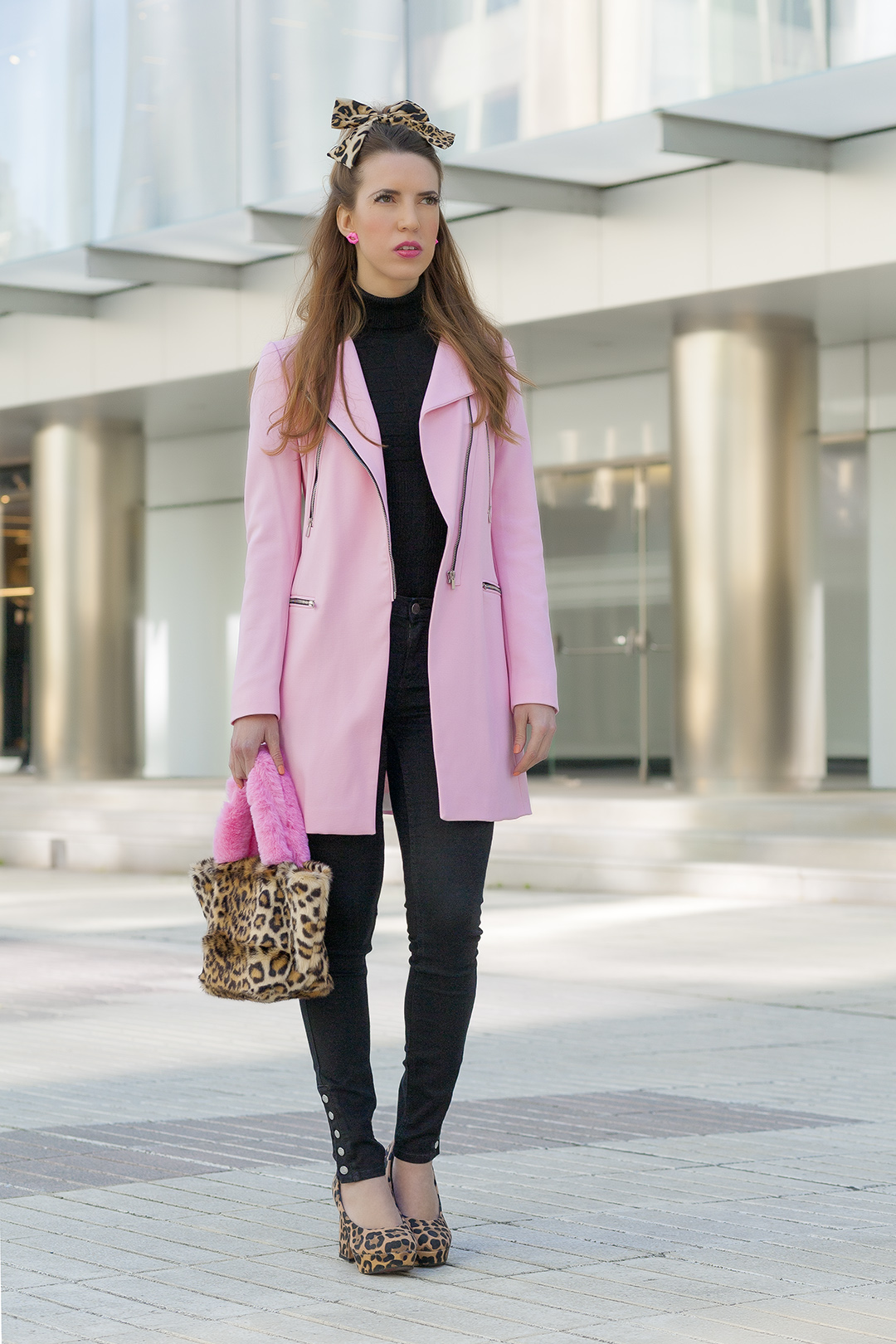 Look LEOPARDO ROSA